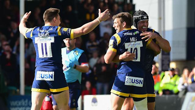 Saturday's Premiership matches brought significant results at both ends of the table, with Worcester and Leicester the big winners.