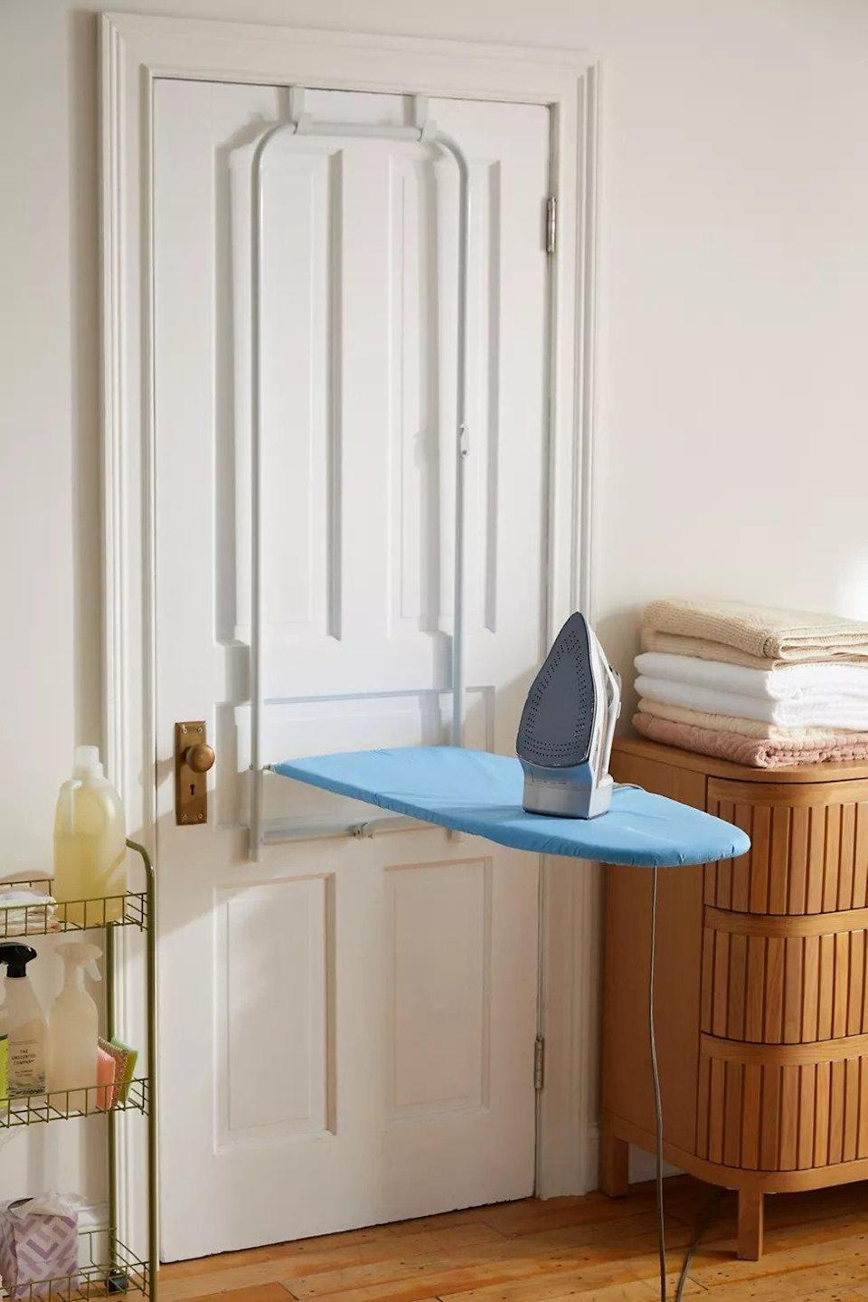 Urban Outfitters Over-the-Door Hanging Ironing Board