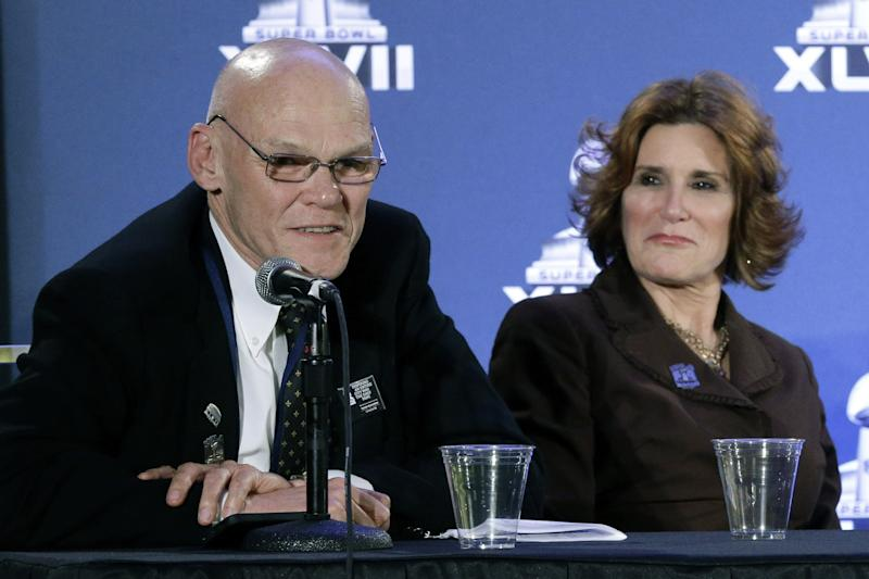 Carville, Matalin enjoy role as Big Easy boosters