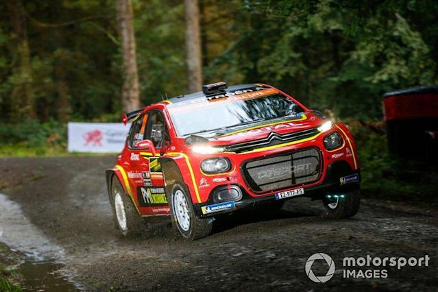 "Mads Østberg, Torstein Eriksen, Citroën World Rally Team Citroen C3 R5 <span class=""copyright"">McKlein / Motorsport Images</span>"