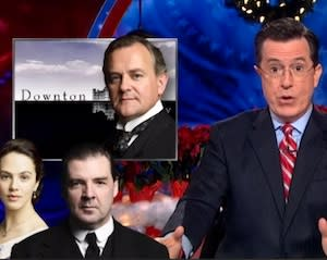 LOL Colbert Report Video: Breaking Abbey Mashes Up Two Critical Darlings