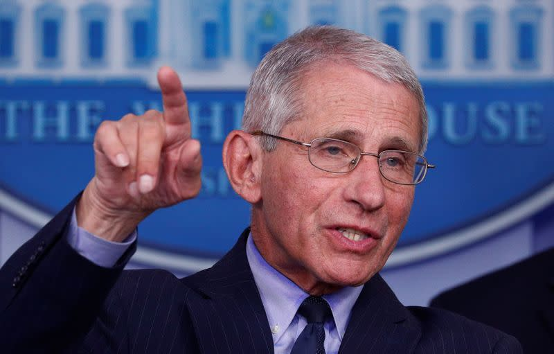 Fauci says threats to his personal security 'secondary' to curbing coronavirus