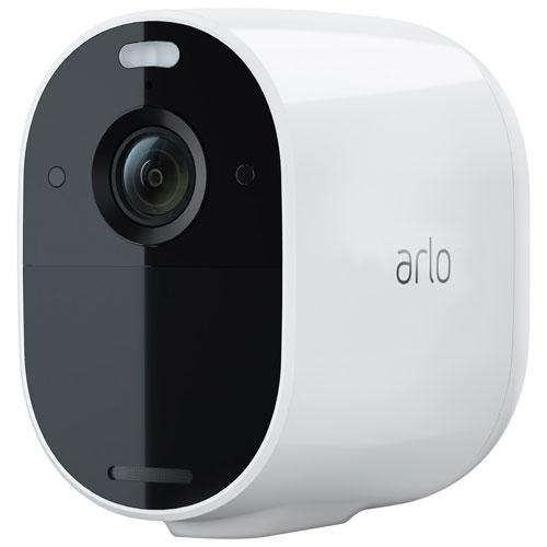 Arlo Essential Spotlight Wire-Free Indoor/Outdoor 1080p Security Camera. Image via Best Buy.