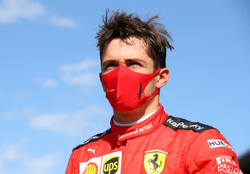 Leclerc hits back at racism accusations for not taking a knee