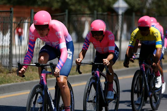 EF Pro Cycling in the Tour Colombia TTT