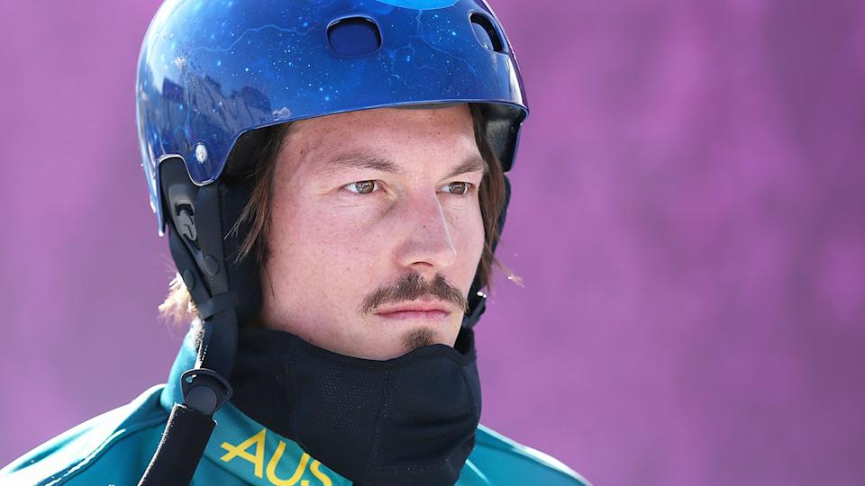 Pictured here, Aussie Winter Olympics legend Alex Pullin.