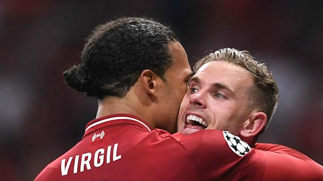 Virgil van Dijk missed training on Thursday and Jordan Henderson has struggled with illness, but both are available to face Manchester City.