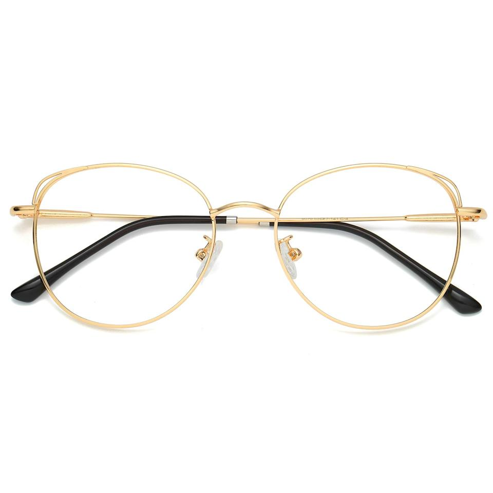 """<h3><a href=""""https://amzn.to/35ki1P4"""" rel=""""nofollow noopener"""" target=""""_blank"""" data-ylk=""""slk:Sojos Blue Light Blocking Glasses"""" class=""""link rapid-noclick-resp"""">Sojos Blue Light Blocking Glasses</a></h3><br>A breakout """"<a href=""""https://www.refinery29.com/en-us/amazon-blue-light-blocking-glasses"""" rel=""""nofollow noopener"""" target=""""_blank"""" data-ylk=""""slk:I Actually Bought This"""" class=""""link rapid-noclick-resp"""">I Actually Bought This</a>"""" product star made this month's most wanted cut — thanks to an R29 employee who actually bought (and swears by) the blue-light-blocking pair of stylish specs. <br><br><strong>Sojos</strong> Blue Light Blocking Glasses, $, available at <a href=""""https://amzn.to/35ki1P4"""" rel=""""nofollow noopener"""" target=""""_blank"""" data-ylk=""""slk:Amazon"""" class=""""link rapid-noclick-resp"""">Amazon</a>"""