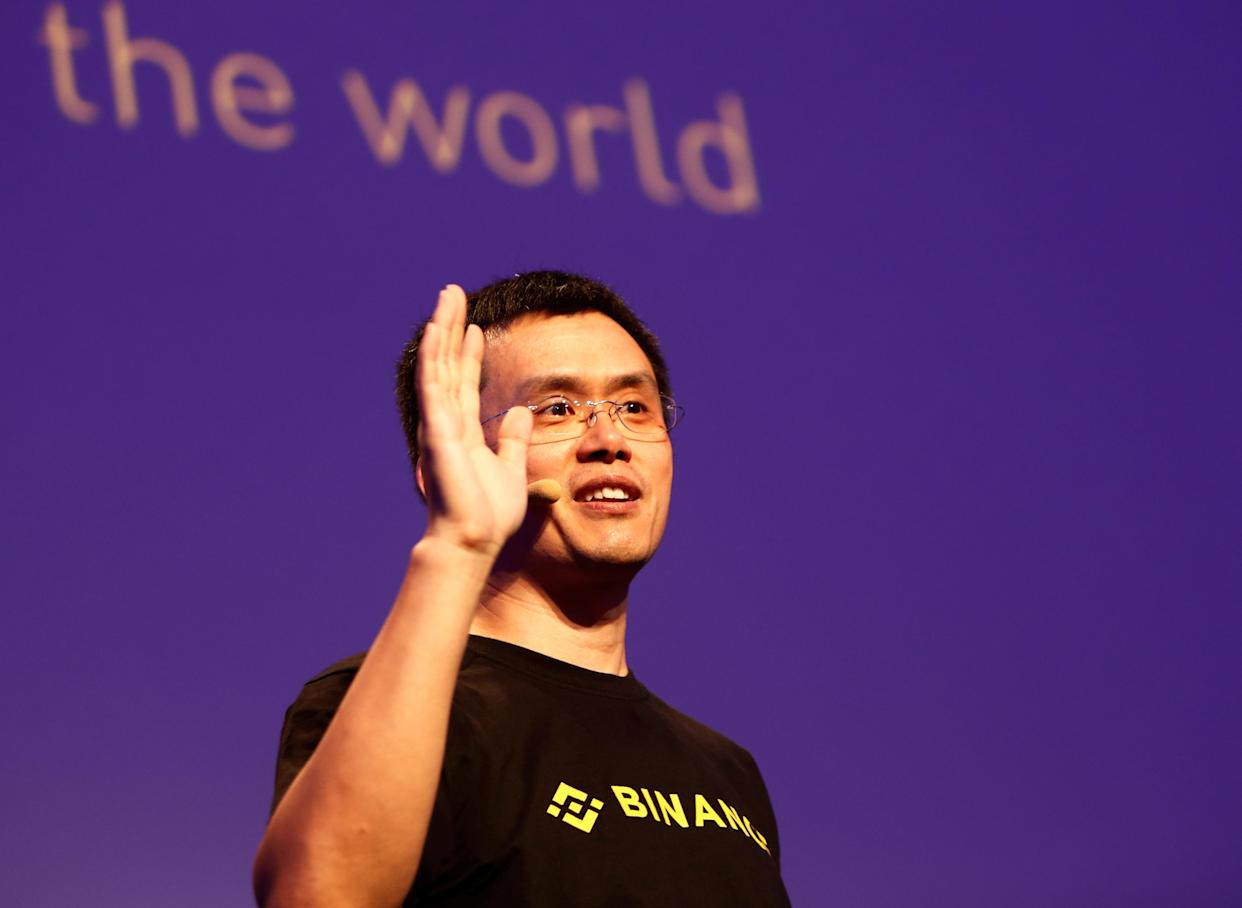 Changpeng Zhao, CEO of Binance, speaks at the Delta Summit, Malta's official Blockchain and Digital Innovation event promoting cryptocurrency, in St Julian's, Malta October 4, 2018. REUTERS/Darrin Zammit Lupi