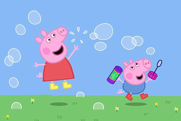 Social media users slammed Peppa Pig, saying it tought children 'to be snobs'. Source: ABC