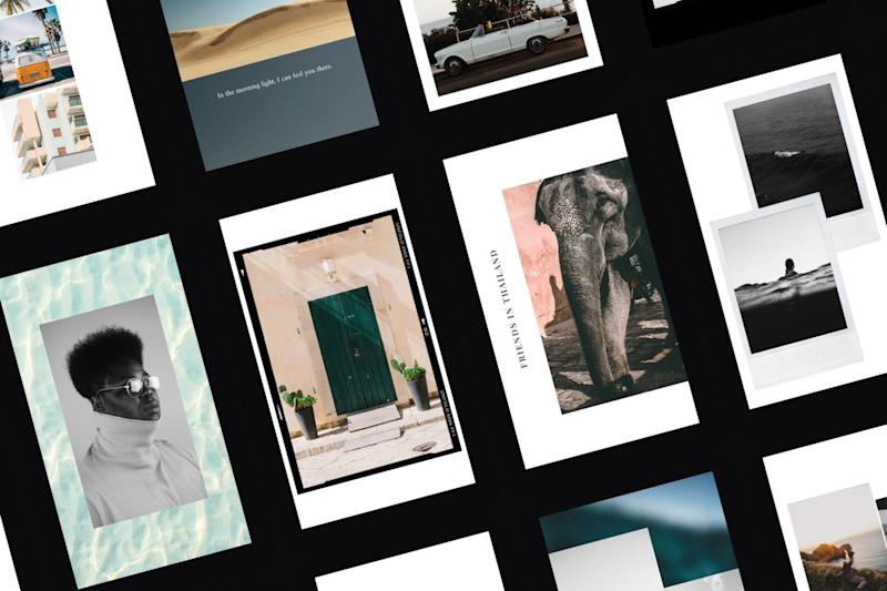 Influencers like Zoella are using Unfold to curate their Stories feed: Unfold