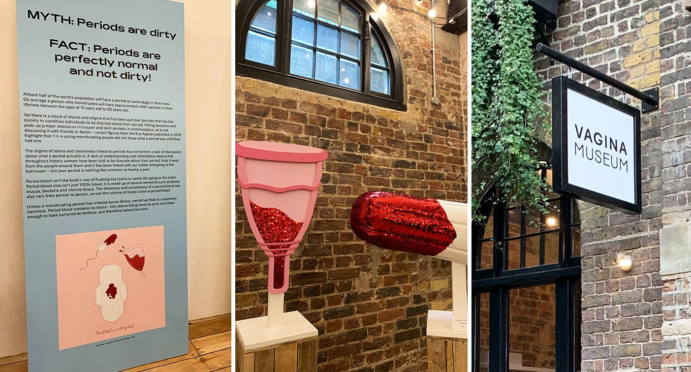 Vagina museum: The world's first vagina museum has opened up in Camden, London.