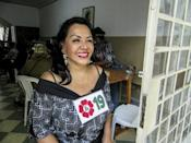 Angela Villon heads the Movement of Sex Workers in Peru and runs a shelter in Lima providing help to some 20 prostitutes seeking a new life