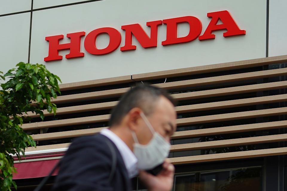 Japan Earns Honda (Copyright 2021 The Associated Press. All rights reserved)