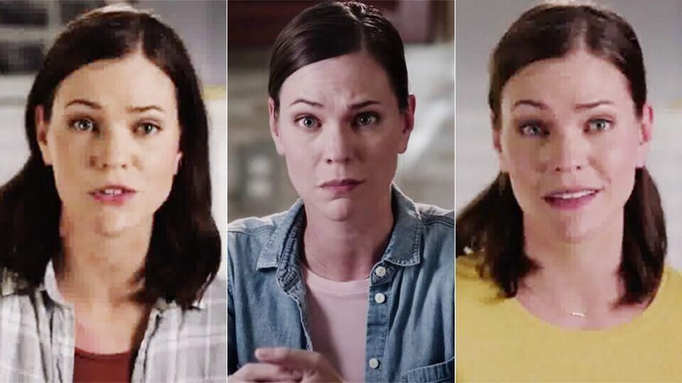 The same purported voter appears in pro-Republican ads for Senate races in three different states.
