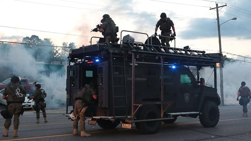 Ferguson Police's Show of Force Highlights Militarization of America's Cops