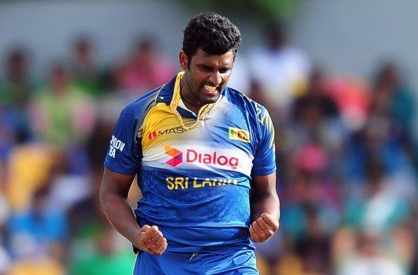 Thisara Perera's two hat-tricks came against neighbours India and Pakistan