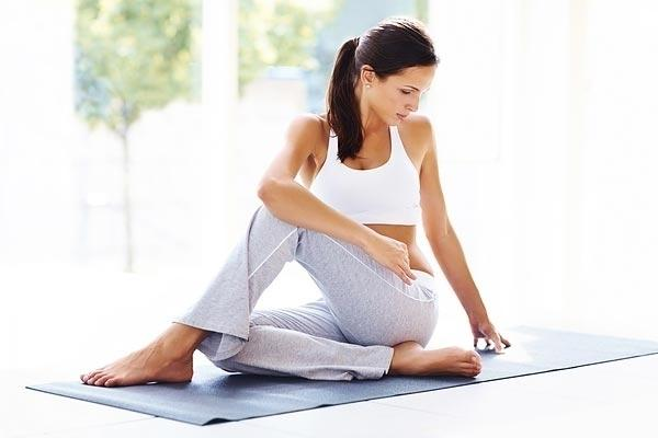 """<div class=""""caption-credit""""> Photo by: Shutterstock</div><div class=""""caption-title"""">Yoga Mats</div><p>   Sure, nearly all gyms have antibacterial spray handy, but have you ever seen it used to clean the yoga mats that come in contact with sweat and bare feet all day? While scientists haven't officially studied the mats, there have been several reports of antibiotic-resistant bacteria thriving on them. Play it safe by bringing your own mat, such as antimicrobial one like Clean Yoga Mat by YOGAaccessories, or using a germ-killing spray, such as Manduka Mat Restore spray, if you need to borrow a mat. </p>"""