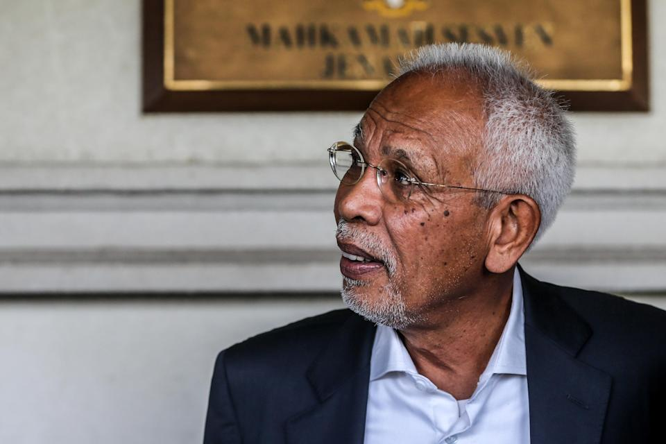 Shahrir said there was nothing wrong with Muhyiddin negotiating with Opposition Leader Datuk Seri Anwar Ibrahim for a truce. — Picture by Firdaus Latif