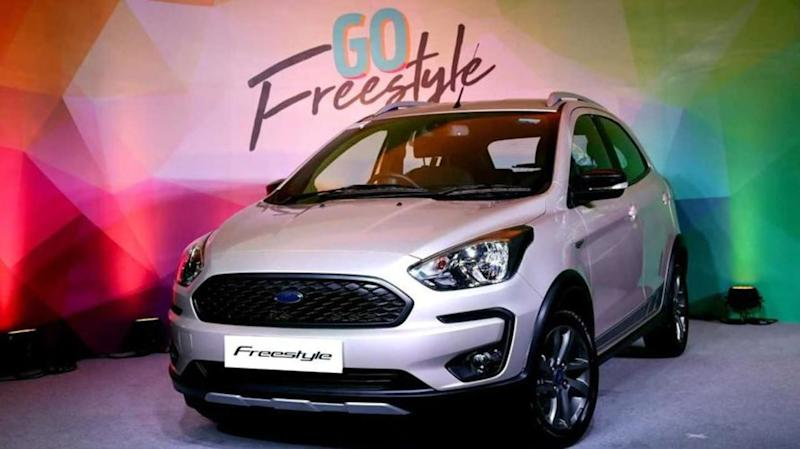 Ford launches crossover hatchback