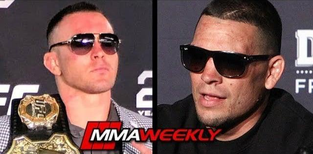 Colby Covington and Nate Diaz