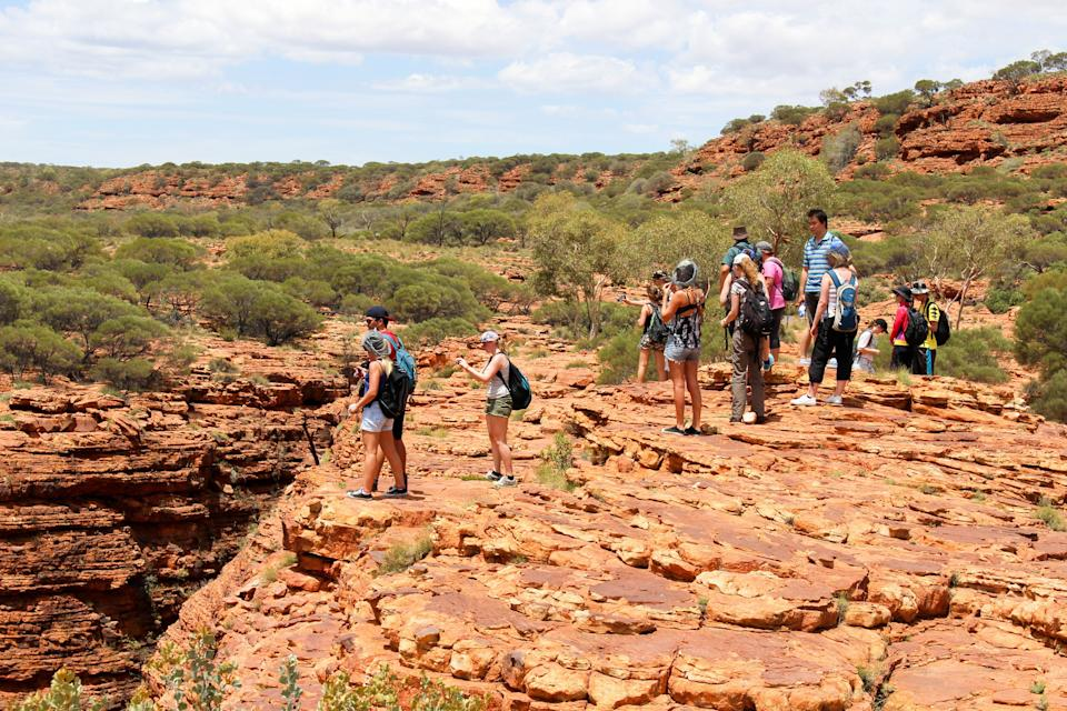 The popular rock climb will be discontinued in October (Watarrka pictured). Source: AAP