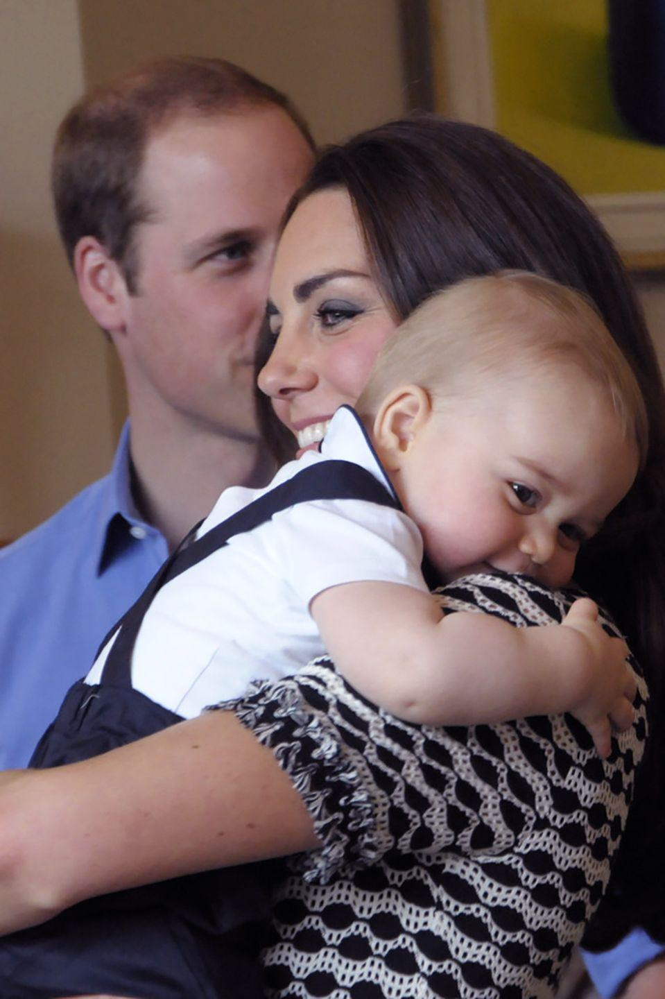 """<p>Prince George's full name is George Alexander Lewis and Princess Charlotte's full name is Charlotte Elizabeth Diana. Prince William's full name is William Arthur Philip Louis<span class=""""redactor-invisible-space"""">.</span></p>"""
