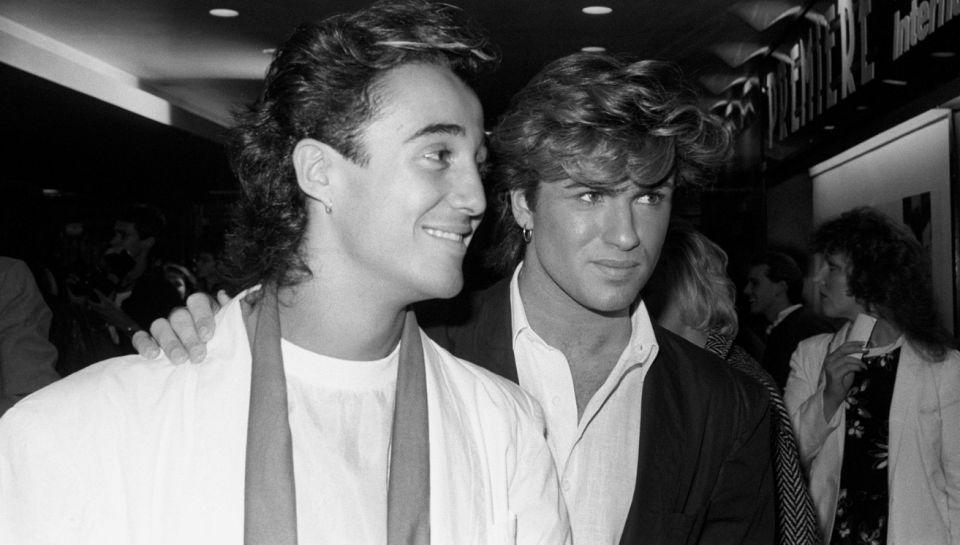 George Michael, pictured when he first rose to fame in the 1980s, with his bandmate Andrew Ridgeley.