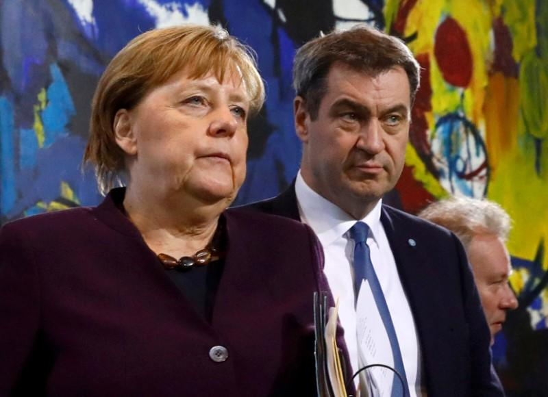 Bavaria head more popular than Merkel in midst of coronavirus crisis