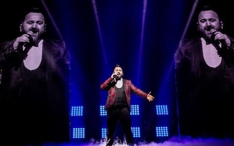 Danny Tetley performs on stage during The X Factor Live Tour - Credit: Mike Lewis Photography