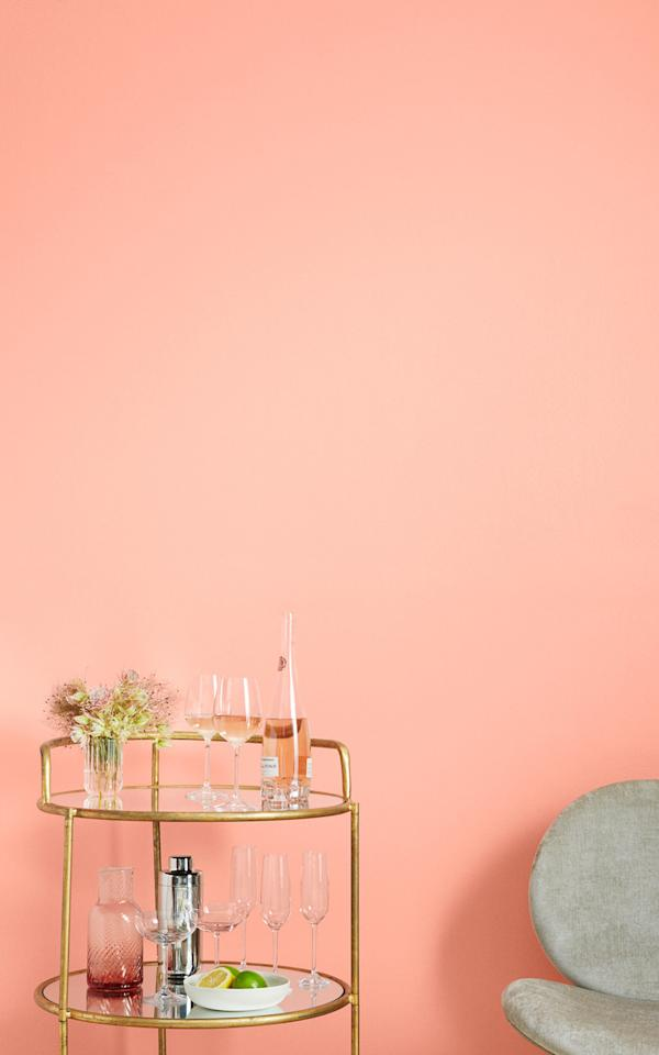 """<p>Believe it or not, our experts say <a href=""""https://www.marthastewart.com/2219404/benjamin-moore-2020-color-first-light"""">some shades of pink</a> are more than just pretty to look at. """"Warmer hues such as peach and soft corals are known to help improve focus and boost concentration and creativity, which is perfect for a home office area,"""" Gibbons says. """"A soft pink like&nbsp;<a href=""""https://www.clare.com/paint/wall/wing-it"""">Wing It&nbsp;</a>or even a punchier hue like&nbsp;<a href=""""https://www.clare.com/paint/wall/pop"""">Pop</a>&nbsp;can provide an inspiring atmosphere for a home office setting.""""</p>"""