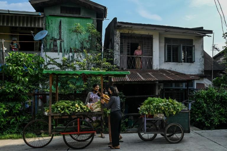 Venturing out in public to earn a living has become a safety hazard for many in Myanmar