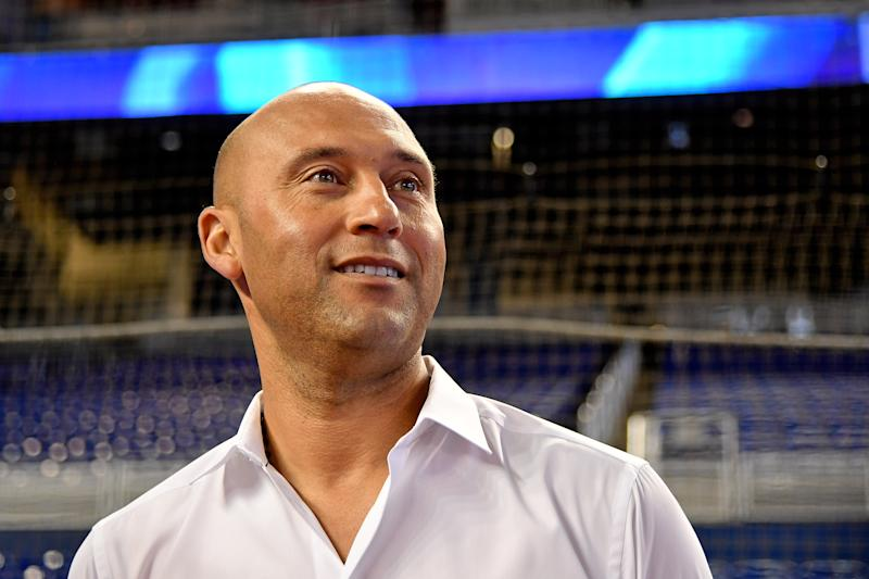 Yankees legend Derek Jeter leads the new crop of names on the Hall of Fame ballot. (Jasen Vinlove-USA TODAY Sports)
