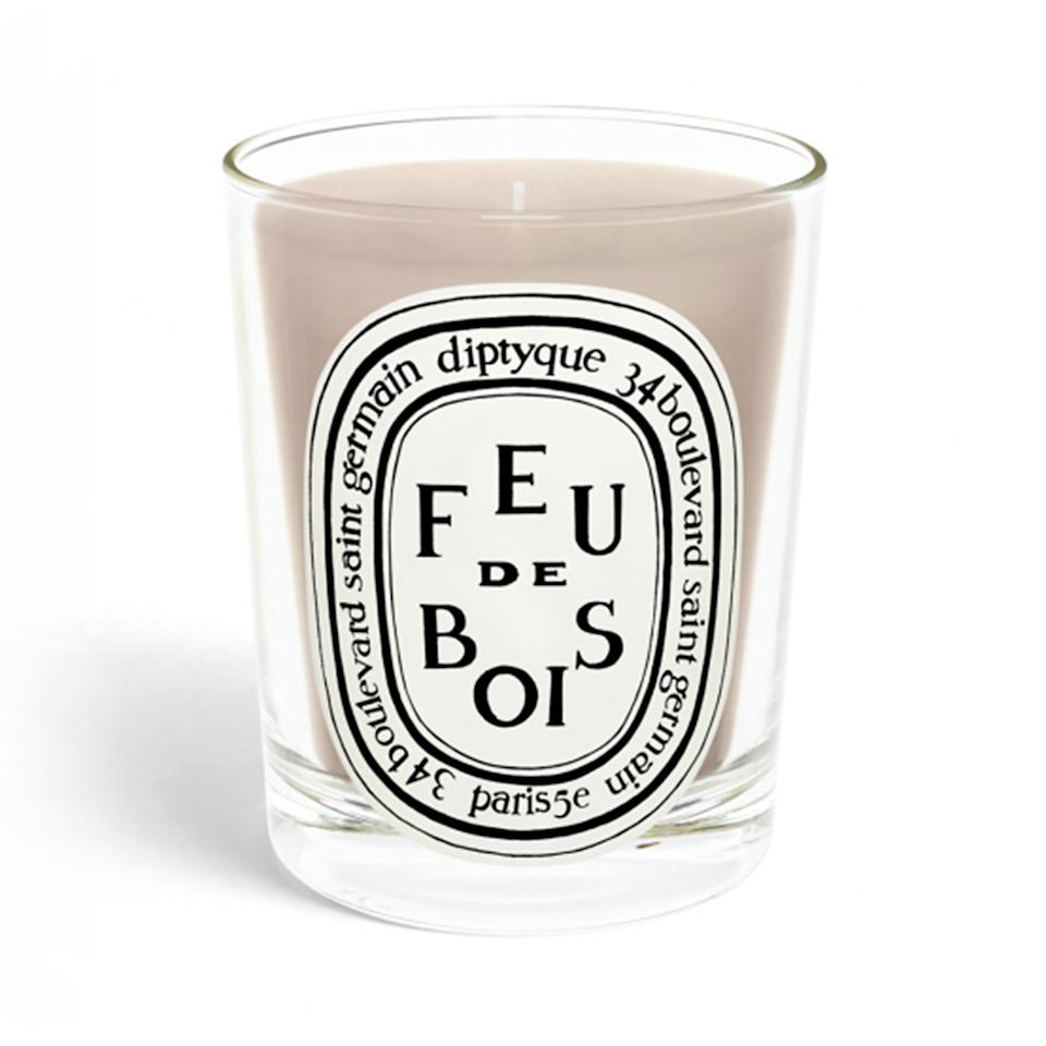 "As Kate Hudson once told us, ""Diptyque always wins with their candles."" The orange blossom scent is her favorite while fellow celeb fan, Kerry Washington loves the Feu de Bois aroma. ""I got it as a gift once and was like, 'That smells <i>really </i>good.'""  <strong>Buy It!</strong> Diptyque Feu De Bois / Wood Fire Candle $36; <a href=""https://click.linksynergy.com/deeplink?id=93xLBvPhAeE&mid=1237&murl=https%3A%2F%2Fshop.nordstrom.com%2Fs%2Fdiptyque-feu-de-bois-wood-fire-scented-candle%2F3228001%2Ffull%3Forigin%3Dcategory-personalizedsort%26amp%3Bbreadcrumb%3DHome%2FBrands%2Fdiptyque%26amp%3Bcolor%3Dnone&u1=PEO%2CTheBestCandlestoGiveFortheHolidays%2Candrealavinthal%2CUnc%2CGal%2C7421559%2C201911%2CI"" target=""_blank"" rel=""nofollow"">nordstrom.com</a>"