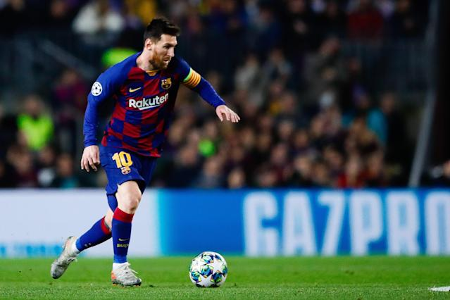 Could Lionel Messi and Barcelona join the rest of the remaining Champions League participants in Germany to finish the tournament? It's practical. (Photo by Eric Alonso/MB Media/Getty Images)