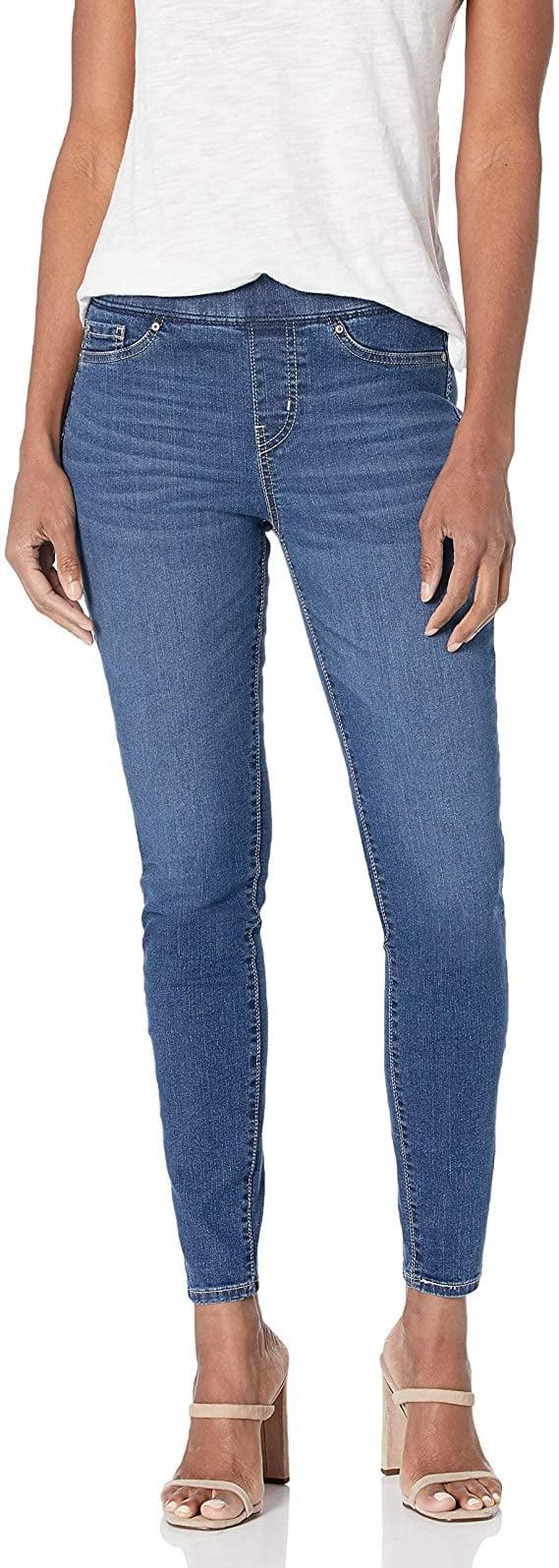 <p><span>Signature by Levi Strauss &amp; Co. Gold Label Totally Shaping Pull-On Skinny Jeans</span> ($23, originally $28)</p>
