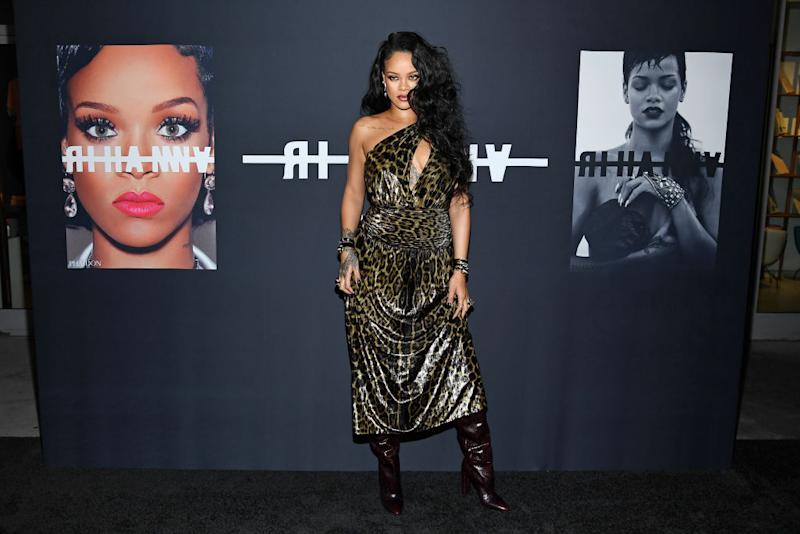 Rihanna attends the launch of Rihanna's first Visual Autobiography, Rihanna, at The Guggenheim Museum on October 11, 2019 in New York City. | Dimitrios Kambouris—Getty Images for Rihanna