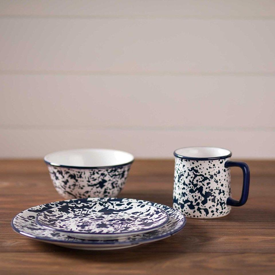 "<p>shop.crackerbarrel.com</p><p><strong>$79.99</strong></p><p><a href=""https://shop.crackerbarrel.com/home-furniture/kitchen-dining/dinnerware-serveware/stoneware-16-piece-dinnerware-set/660434"" rel=""nofollow noopener"" target=""_blank"" data-ylk=""slk:SHOP NOW"" class=""link rapid-noclick-resp"">SHOP NOW</a></p><p>Add some color to her kitchen with this 16-piece splatterware set.</p>"