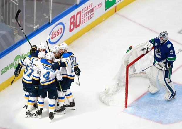 Formidable Blues, led by O'Reilly, beginning to turn the tide in series against Canucks