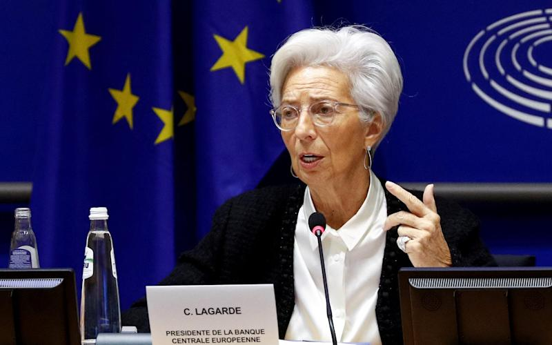 Lagarde plans for digital euro as alternative to cash