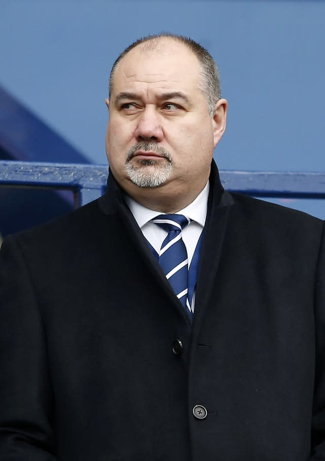 Mark Dodson, Scottish Rugby chief, had come in for criticism (Lynne Cameron/PA)