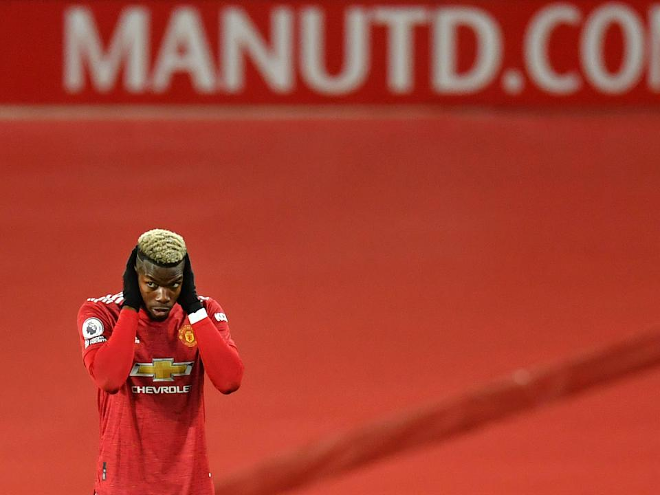 Manchester United midfielder Paul Pogba (POOL/AFP via Getty Images)