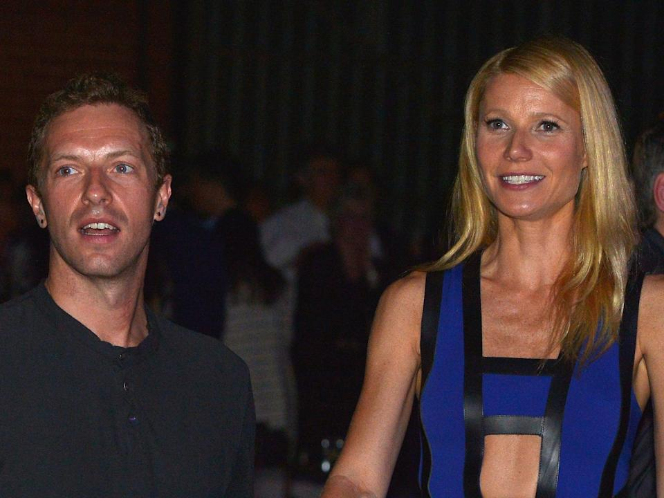 """Gwyneth Paltrow and Coldplay's Chris Martin """"consciously uncoupled"""" in March (Getty)"""