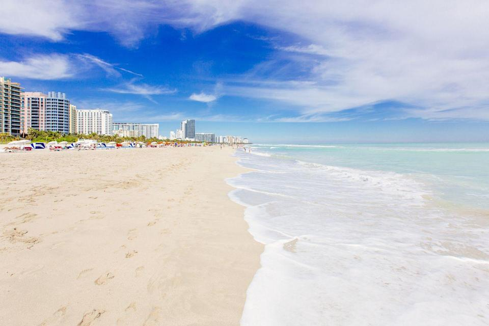 """<p>Spring Break might have been cancelled, but Florida stills wants you to explore its beautiful beaches online. The multi-view surf cameras along Miami Beach show off the turquoise water and the designed boardwalk, just in time to imagine yourselves Florida-bound for Art Basel. Skip the flight and head to Miami city's website for the full tour <a href=""""https://www.miamiandbeaches.com/plan-your-trip/see-miami-webcams"""" rel=""""nofollow noopener"""" target=""""_blank"""" data-ylk=""""slk:here"""" class=""""link rapid-noclick-resp"""">here</a>. </p>"""