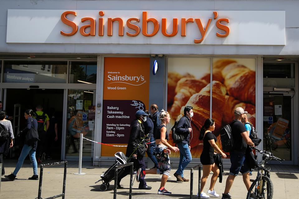A Sainsbury's store in London. Photo: Dinendra Haria/SOPA/LightRocket via Getty Images