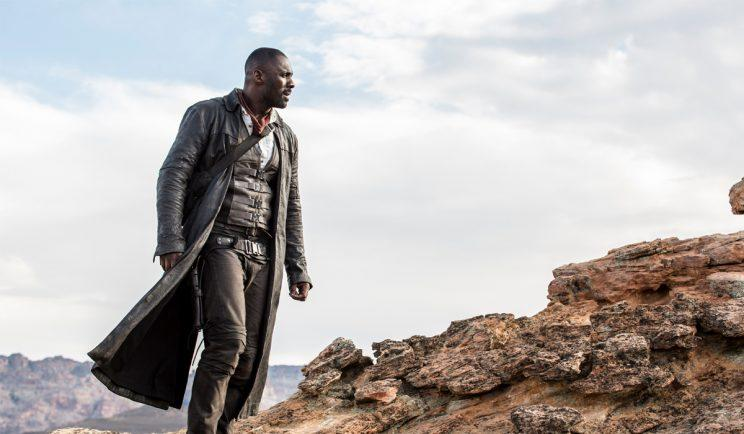 Idris Elba searches for The Dark Tower - Credit: Columbia