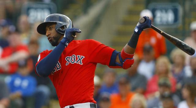 An eighth-inning rally propelled the Red Sox over the Orioles in their Wednesday night exhibition game.