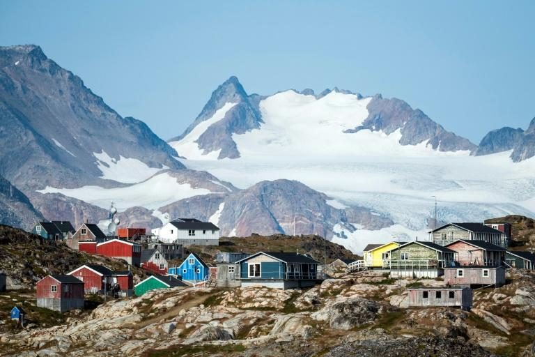 Greenland, a resource-rich Danish possession, has become a focal point for climate research (AFP Photo/Jonathan NACKSTRAND)