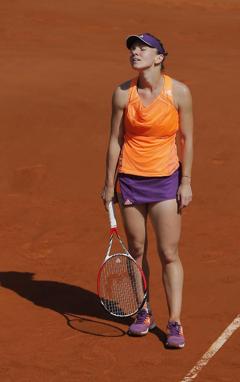 Halep loses her focus, and her 1st major final