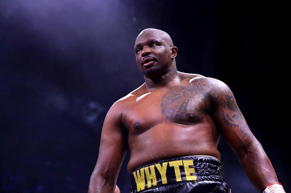 <p>Dillian Whyte will be looking for revenge against Alexander Povetkin in Gibraltar next month</p> (Getty Images)